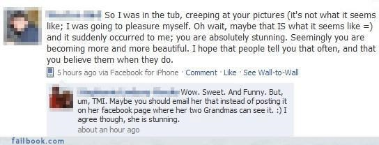 call uncle creepy grandma not the best way to woo a lady public burn
