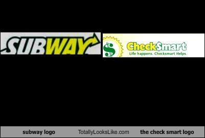 subway logo totally looks like the check smart logo totally looks like