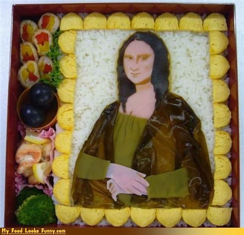 art box da vinci mona lisa painting rice - 3573564160