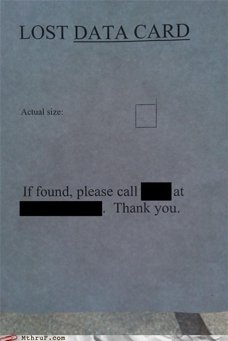 basic instructions clueless derp lost lost and found paper signs poster Sad signage - 3574078976