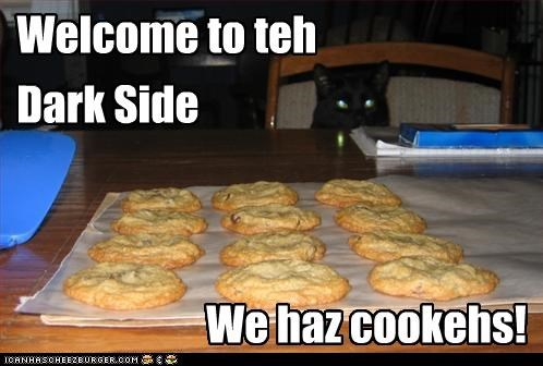 Welcome to teh Dark Side We haz cookehs!