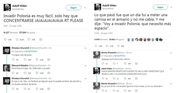 lista tuits segunda guerra