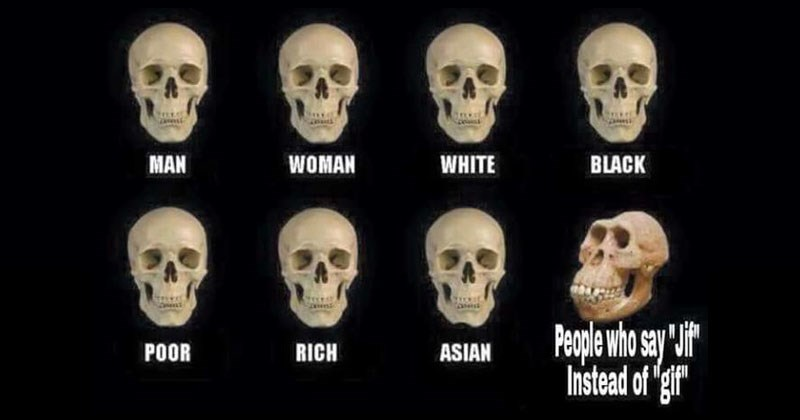 Funny trending skull comparison meme, gifs, movies, rick and morty, flat earth, harambe.