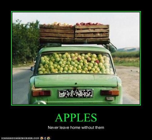 APPLES Never leave home without them