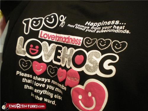 engrish love shirt - 3579097344