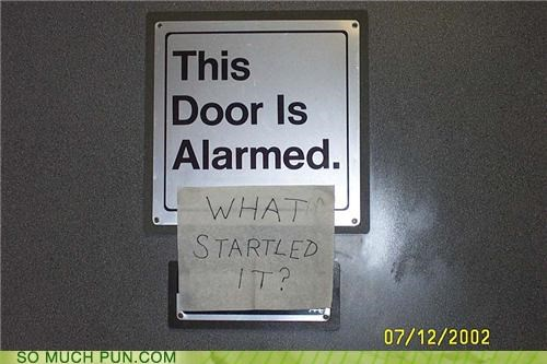 door,misunderstanding,puns,signs
