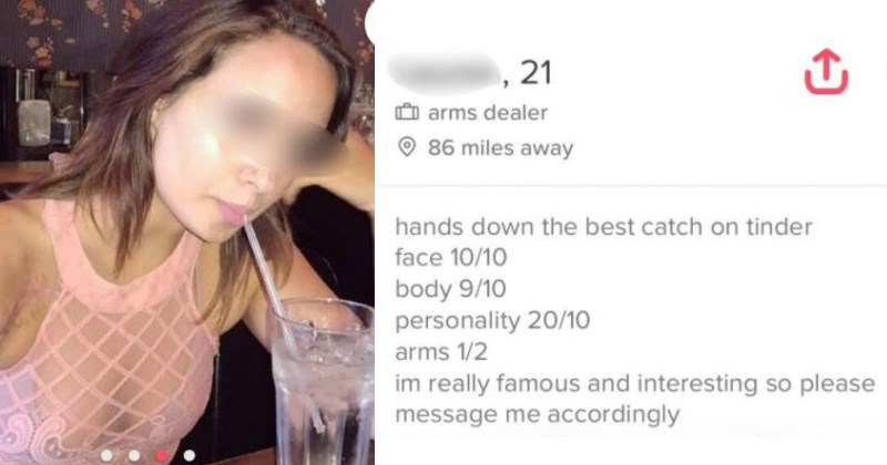 Witty WINs From Tinder Profiles
