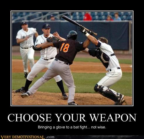 america baseball bats fights Mean People sports yikes - 3584868608