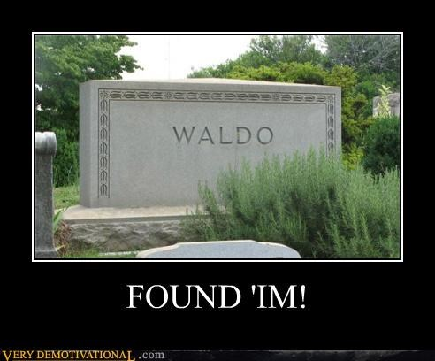 books cemetary childhood Death grave Hall of Fame Sad searching waldo - 3585800704
