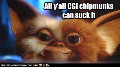 cgi,creatures,gizmo,gremlins,movies,The Chipmunks