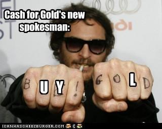 Cash for Gold's new spokesman: U Y L