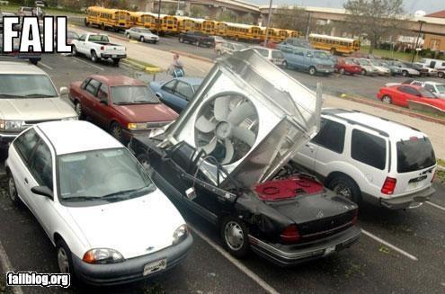 air conditioning broken car dropped failboat - 3586801408