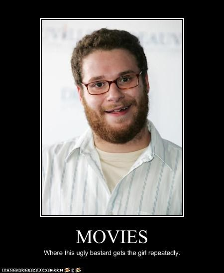 actor movies Seth Rogen ugly - 3587487744