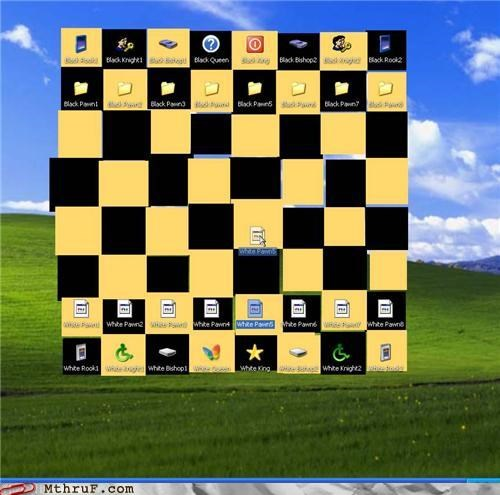 board game bored game boredom chess creativity in the workplace cubicle boredom decoration desktop dumb hig ixd lame mess pointless stupid ux wallpaper wasteful work smarter not harder worthless