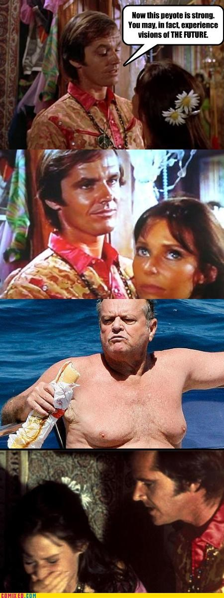 celebutard celebutards drugs jack nicholson sheeple time travel - 3589600256