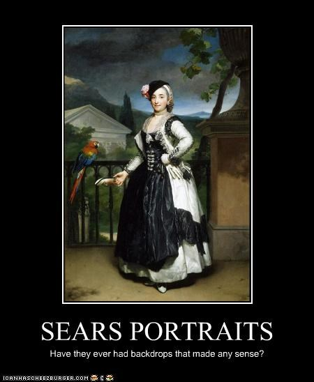 art funny lady painting portrait - 3591461888