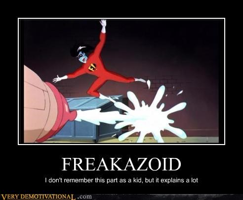 FREAKAZOID I don't remember this part as a kid, but it explains a lot