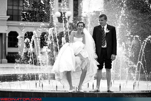 accident bidet Crazy Brides crazy groom eww fashion is my passion fountain miscellaneous-oops splash surprise technical difficulties ummm unexpected enjoyment upskirt were-in-love weird photo wtf - 3591754496