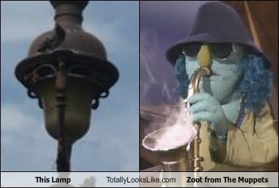 lamp the muppets zoot - 3592396288