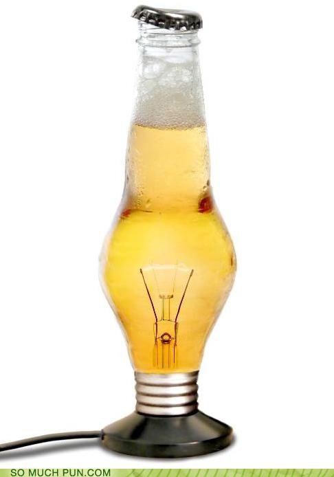 beer beverage lights puns technology - 3592612096