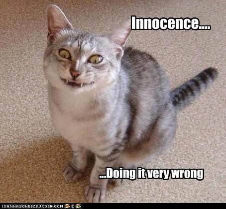 Innocence.... ...Doing it very wrong