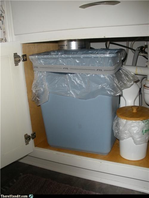 elastic eww recycling-is-good-right trash bag trash can underwear - 3592991232