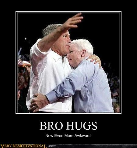 BRO HUGS Now Even More Awkward.