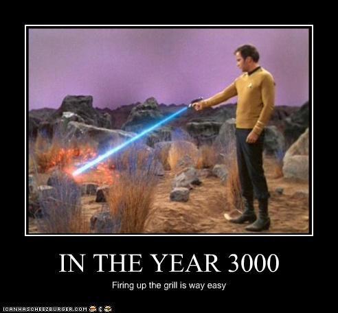 food grills sci fi Shatnerday Star Trek TV William Shatner