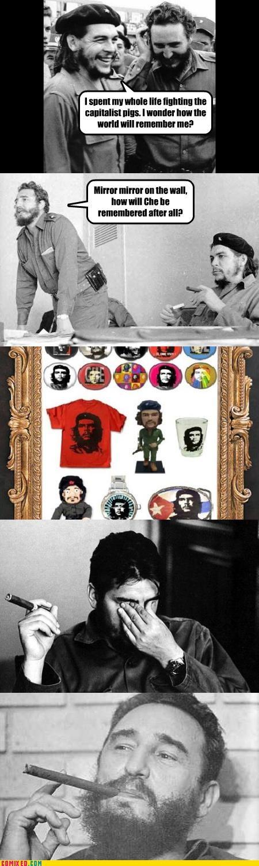 adbusters capitalism Che Guevara cuba Fidel Castro history politics - 3593738496