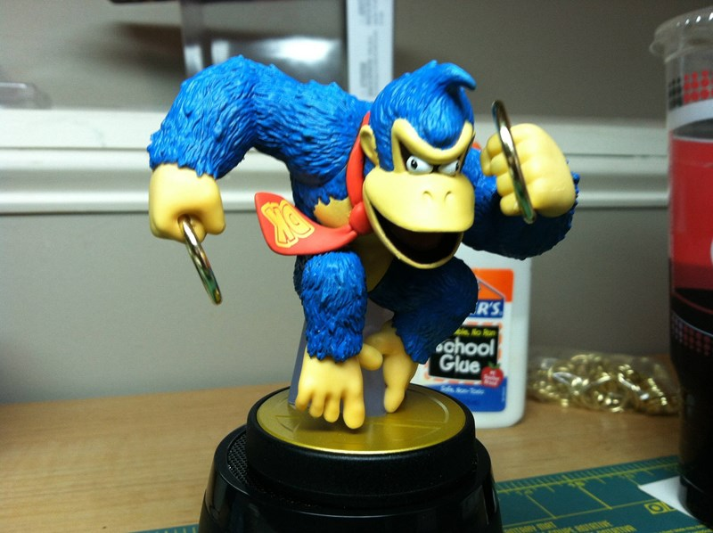 super smash bros,list,dankey kang,custom,gaming,amiibo,video games,nintendo
