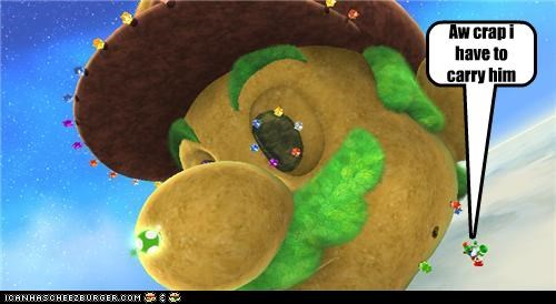 Yoshi Gets Mad Cheezburger Funny Memes Funny Pictures