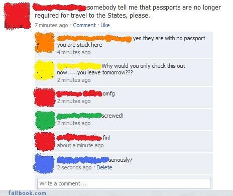 asking friends passport procrastinating Travel - 3595481600