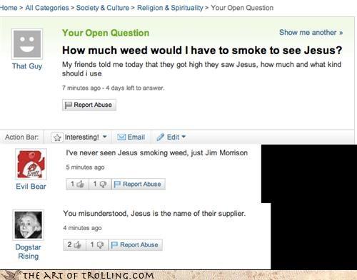 jesus,weed