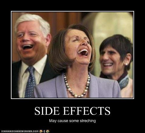 SIDE EFFECTS May cause some streching