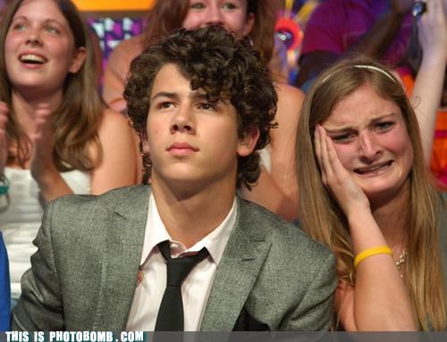 Celebrity Edition,emotions,girls,jonas brothers,tears