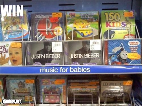awesome Babies failboat justin bieber Music - 3598276352