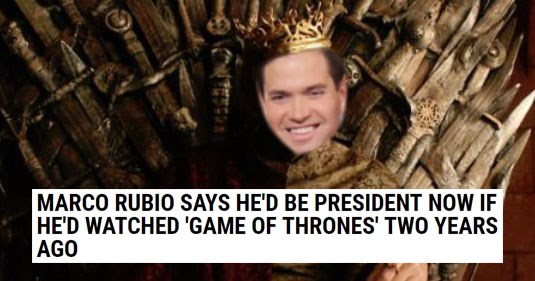 Funny and weird news headlines, politics, donald trump, marco rubio, hurricanes, prison, methane, farts, cereal, jack daniels, isis, lil wayne, game of thrones.