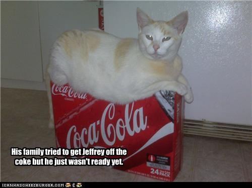 His family tried to get Jeffrey off the coke but he just wasn't ready yet.
