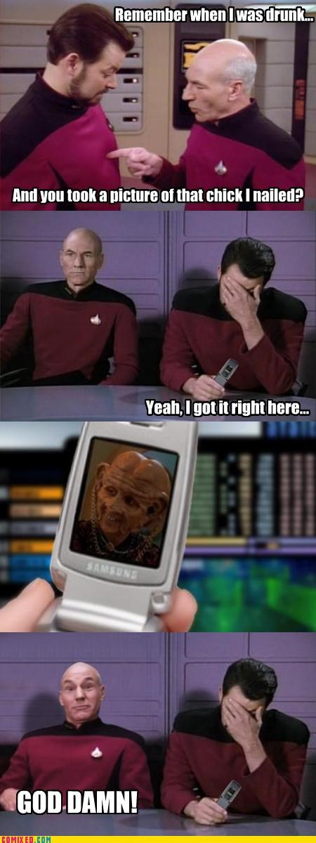 ferengi hot dates picard regret Star Trek - 3601156352