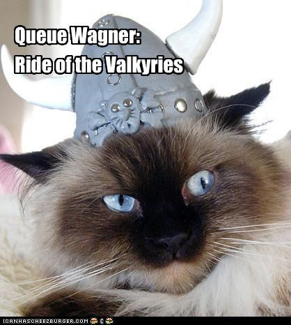 Queue Wagner: Ride of the Valkyries