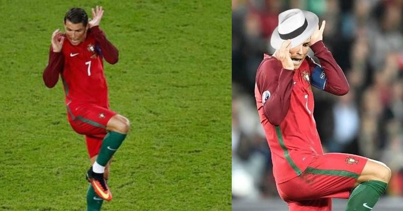 Cristiano Ronaldo photoshop battle