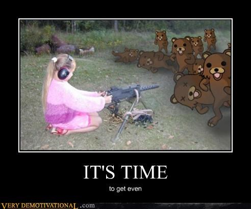 children,Death,hilarious,impossible,machine guns,pedobear,the internet