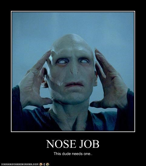 NOSE JOB This dude needs one..