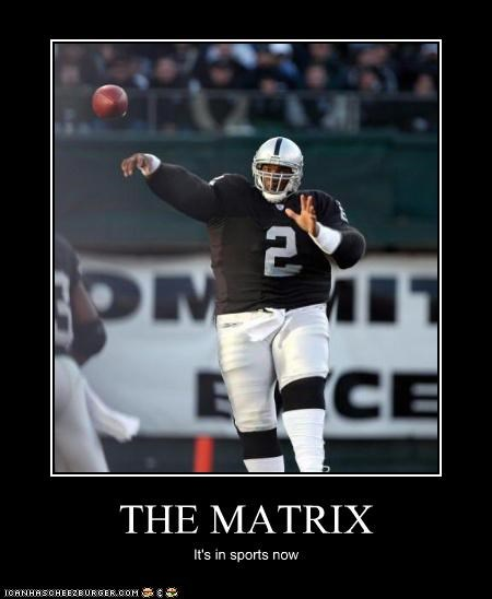 THE MATRIX It's in sports now