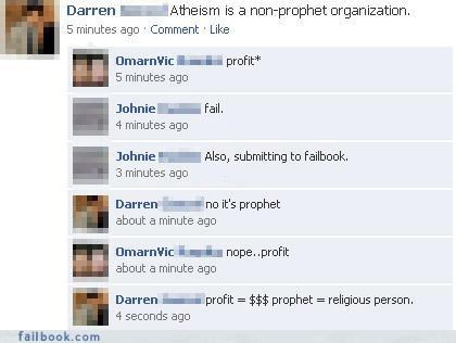 atheism jokes puns you missed something - 3607608576