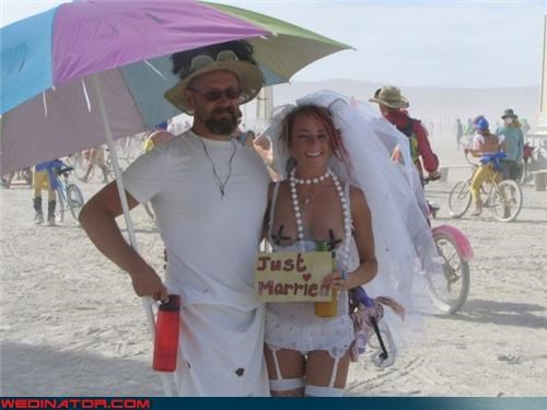 beach wedding boob tape bride crazy bride picture Crazy Brides crazy groom fashion is my passion funny wedding photos groom Just Married pasties bride slutty bride on the beach surprise topless bride were-in-love white trash wedding wtf