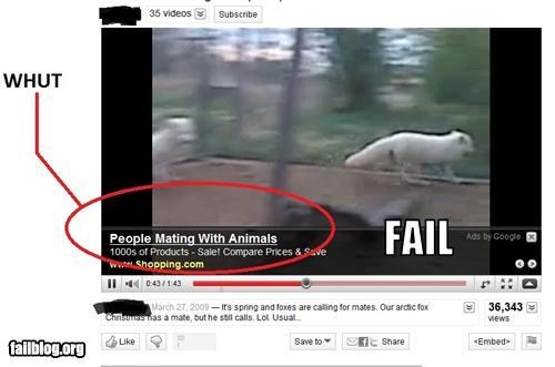 Ad animal failboat google love - 3610334208
