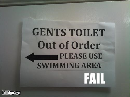 failboat,g rated,sign,summer fails,swimming,toilet