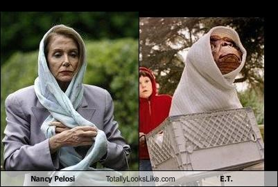 alien E.T movies Nancy Pelosi politics