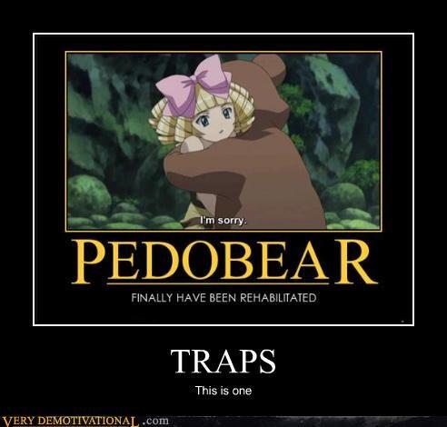 admiral ackbar,anime,apologies,impossible,kids,pedobears,traps